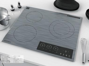 超精致的电炉灶面设计