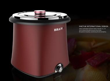 暖汤煲设计,产品外观设计公司,德腾工业设计