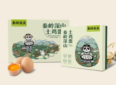 土鸡蛋品牌全案设计-西安秦岭农夫