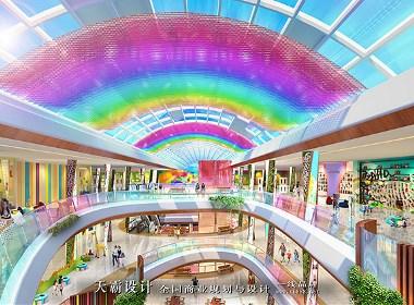 主题化安康购物中心装修设计缔造者:天霸设计公司