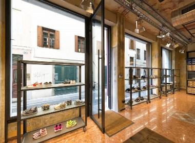 成都鞋店设计/成都鞋店装修公司/成都鞋店装修设计