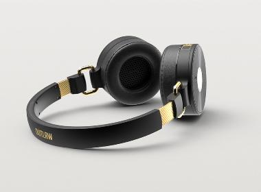 头戴式时尚耳机产品设计