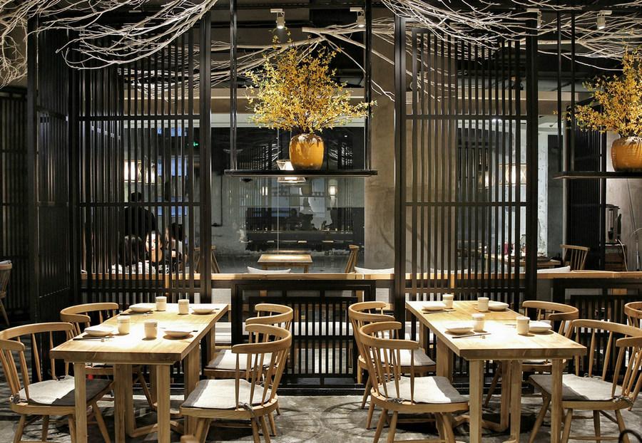 成都料理店設計/成都料理店設計公司/成都料理店裝修設計