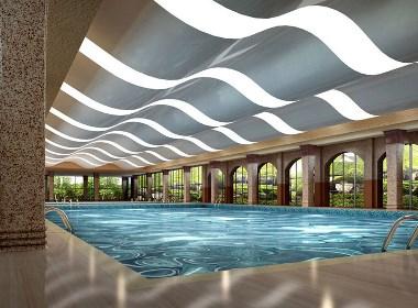 游泳馆 游泳池设计案例效果图