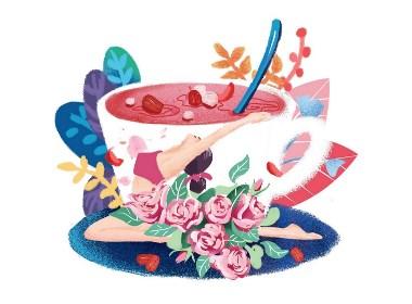 画茶,花茶