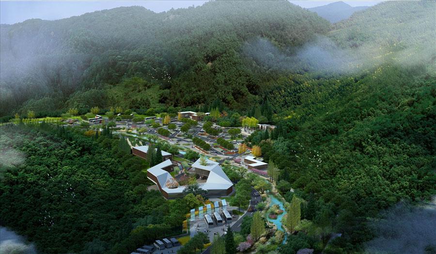 生态公园 生态湿地 生态公园动画 自然风光 自然景观 自然风景