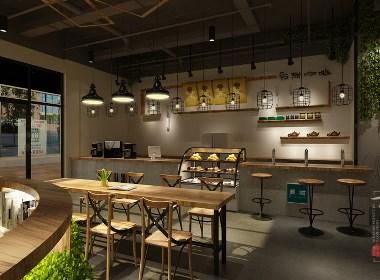 成都咖啡厅设计作品赏析:成都后甜咖啡厅设计