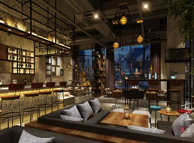 咖啡馆I装修设计案例赏析:成都TID咖啡馆|古兰作品