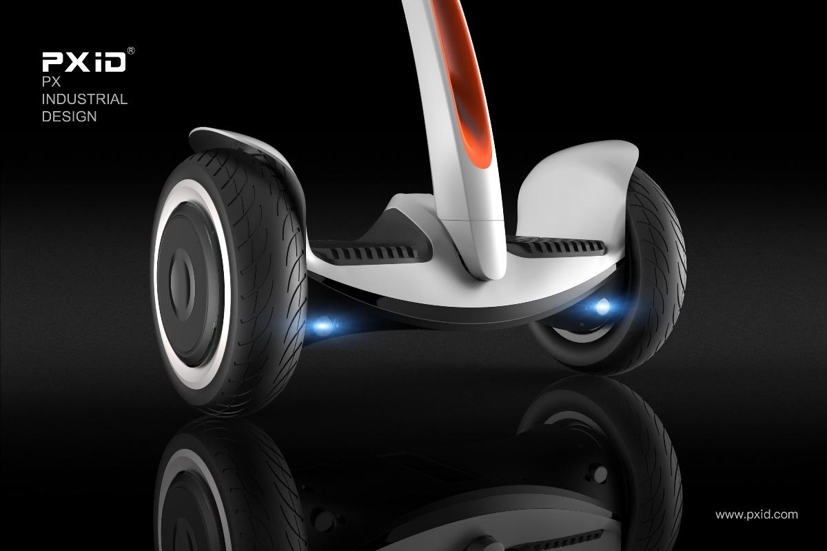 品向工业设计 平衡车设计