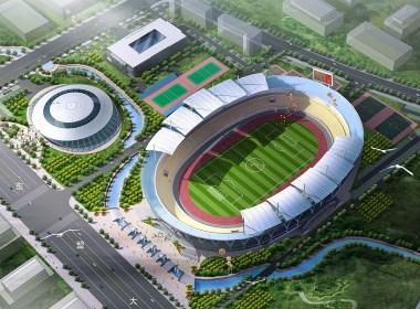 体育馆 体育中心设计案例效果图