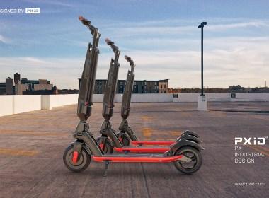 电动滑板车设计