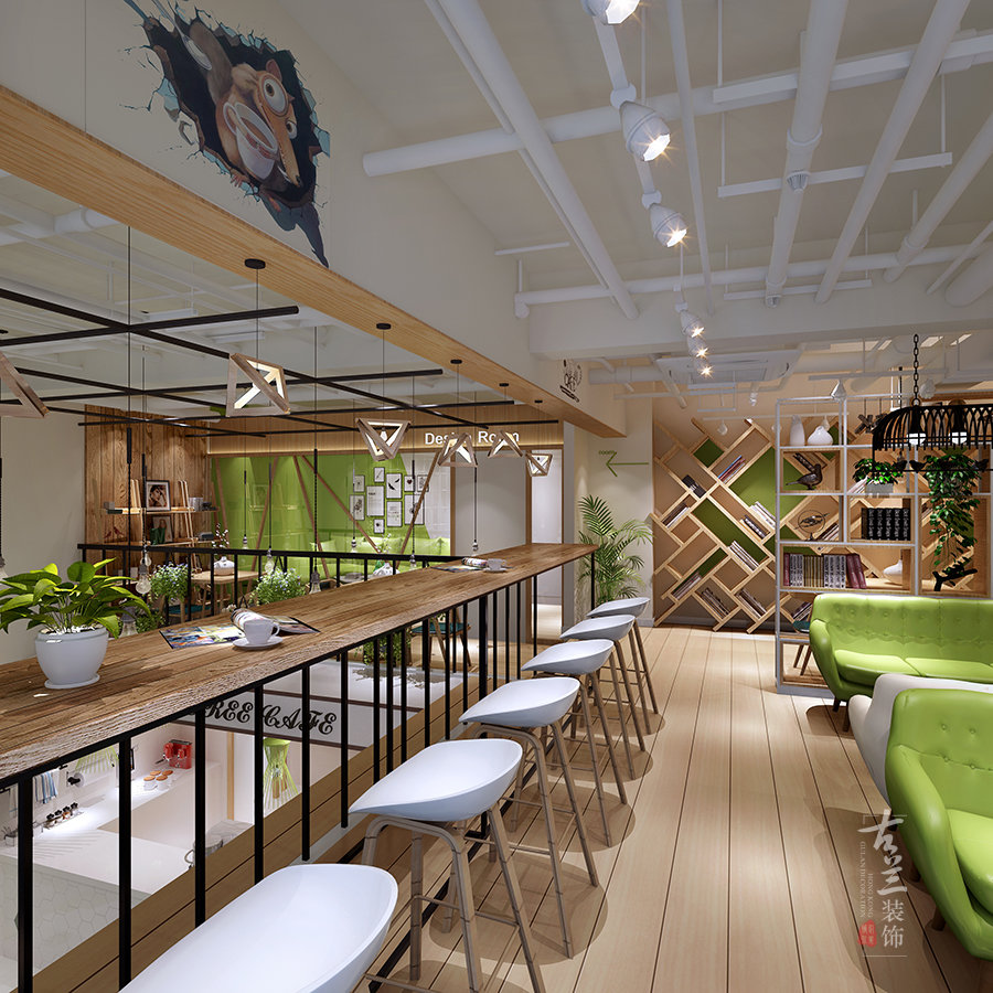 咖啡馆 咖啡厅 咖啡屋装修案例赏析:成都囧囧小屋咖啡馆