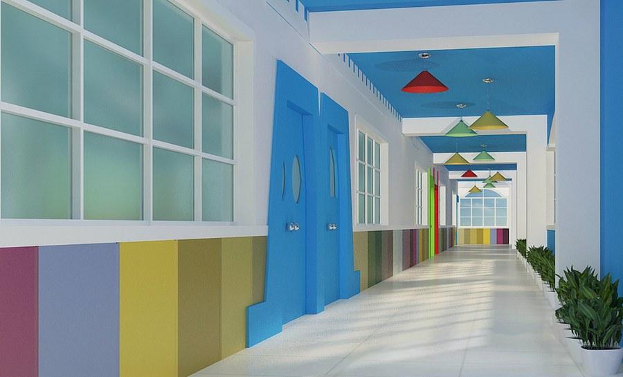 成都幼儿园装修设计/成都幼儿园装饰公司/成都幼儿园设计