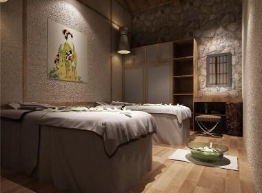 成都素颜女子日式美容院设计-绵阳美容院设计|绵阳美容院装修|绵阳日式美容院设计公司