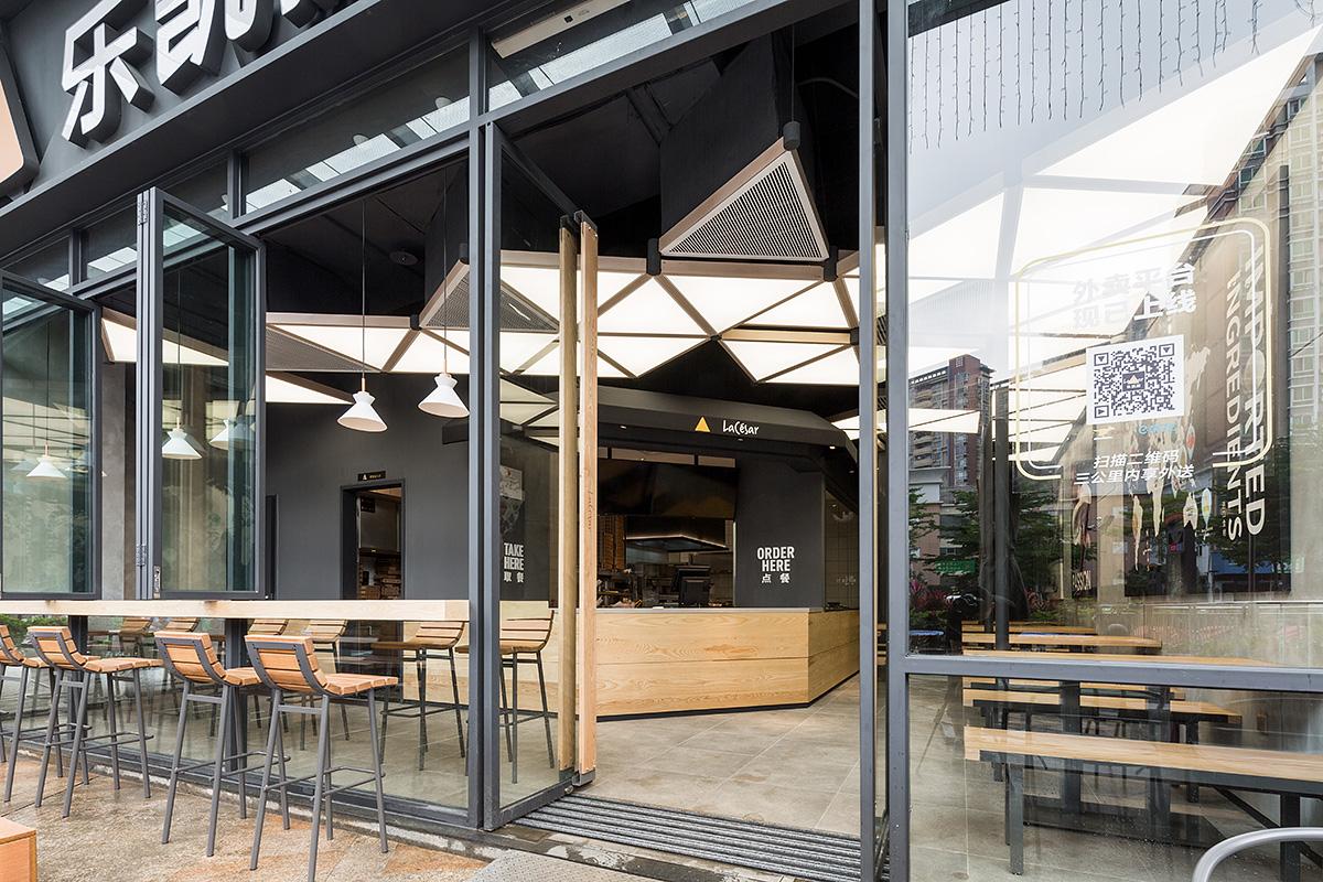 餐饮设计——乐凯撒最新星球店,城市口袋设计