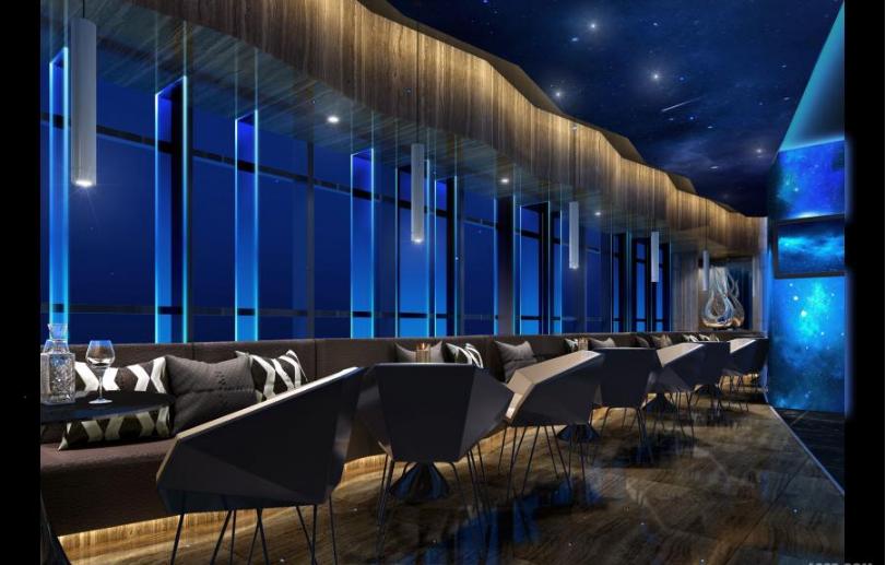 青海星空酒吧餐廳設計-成都主題酒吧設計|成都音樂餐吧設計|成都酒吧
