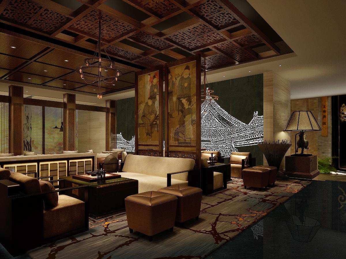 【高见设计】镏金岁月文化茶楼,禅意的生活方式