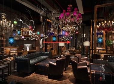 成都咖啡厅 咖啡屋装修设计案例赏析:成都晓咖啡厅|古兰装饰