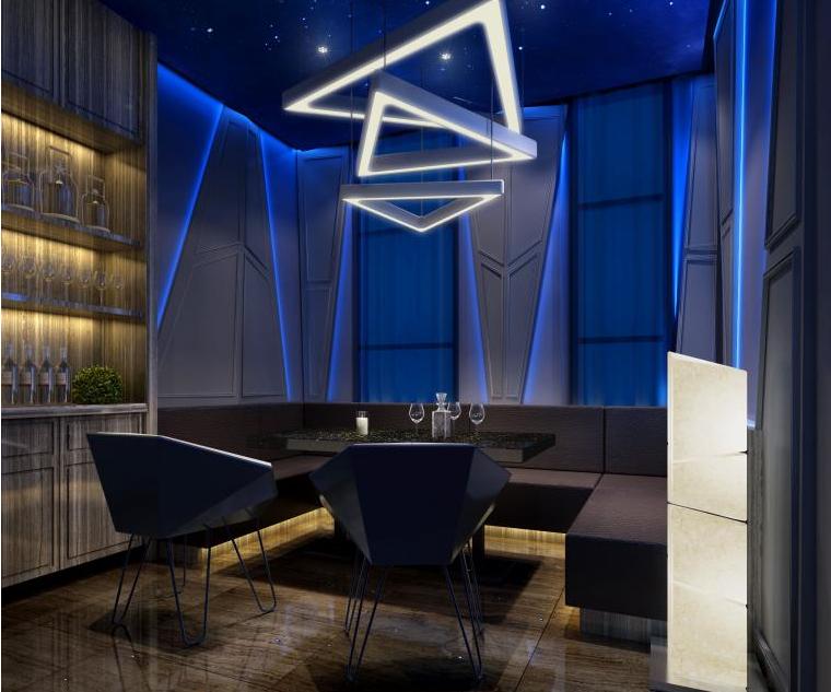 青海星空酒吧餐厅设计-成都主题酒吧设计|成都音乐餐吧设计|成都酒吧设计公司|成都专业酒吧装修公司