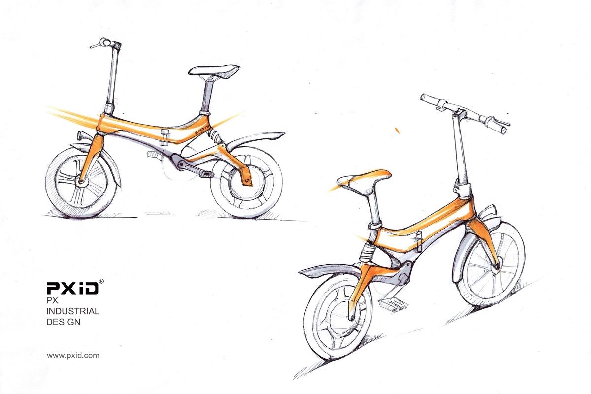 电动助力车设计
