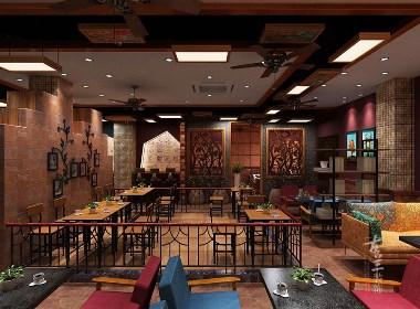 咖啡厅风格赏析:波西米亚风格咖啡厅|古兰作品