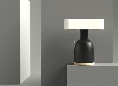 艺术感台灯设计