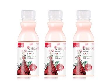 玫瑰花-洛神花 饮料包装设计
