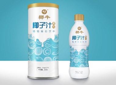 椰牛品牌包装设计