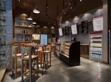 成都咖啡厅装修设计赏析:英郡咖啡厅|古兰作品