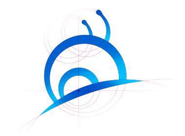 蓝蜗牛品牌VI、LOGO设计