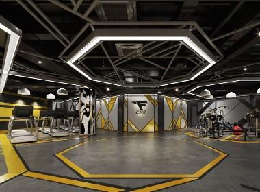 温江飞利女健身工作室设计-成都健身工作室设计|成都健身工作室装修|成都私教健身工作室设计公司