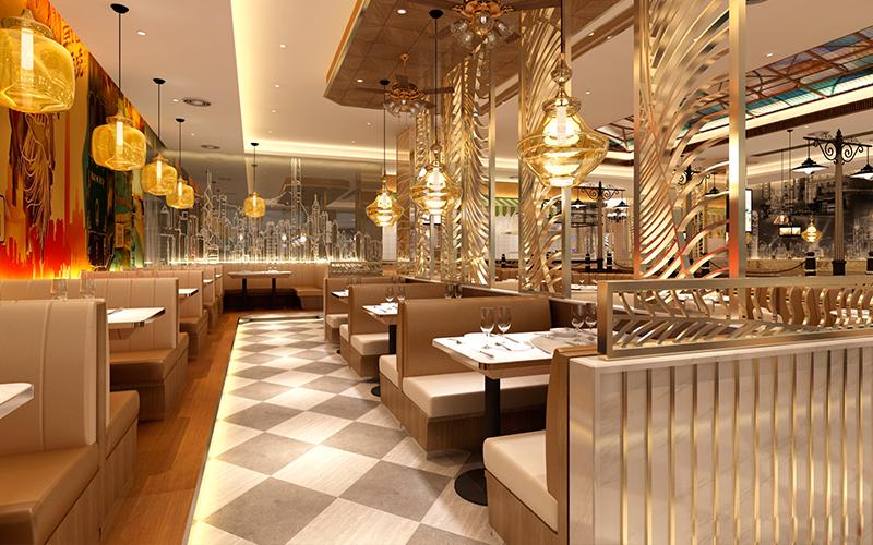 唯苑港式茶餐厅-吉林西餐厅设计|吉林港式茶餐厅设计公司|长春|四平专