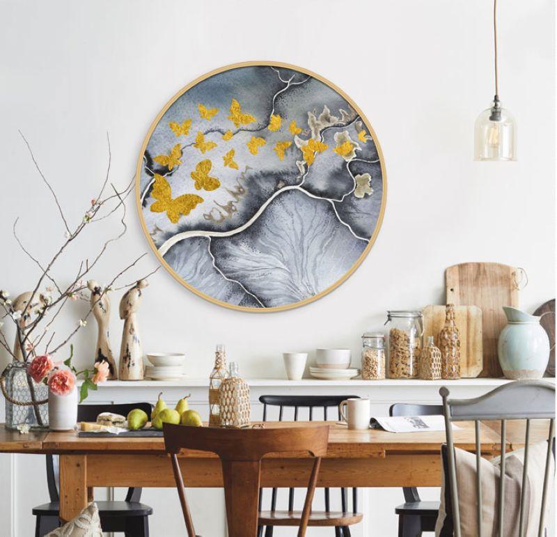 新中式装饰画《圆你所梦》