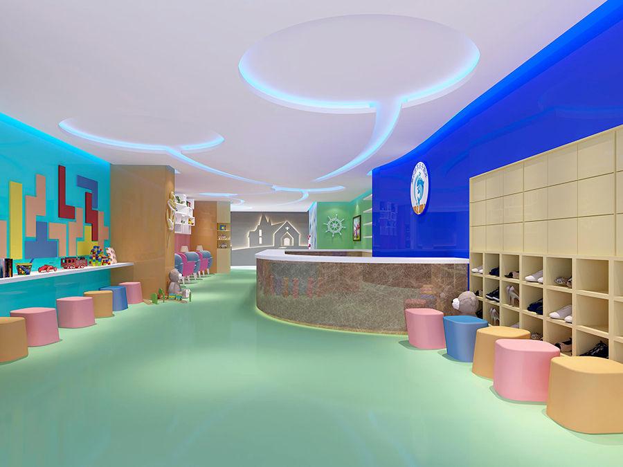 设计以海洋乐园为主题,整体设计