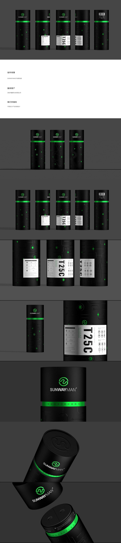 工业产品外观包装主视觉 产品包装设计