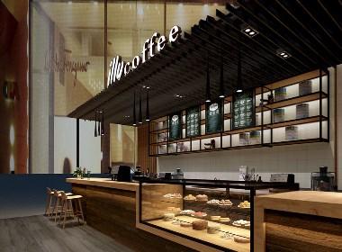 咖啡空间设计赏析:意利咖啡|古兰设计
