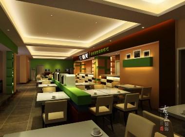 成都咖啡吧(厅)空间设计赏析:滴答滴时尚咖啡吧|古兰装饰