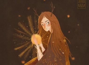 夜童话—插画欣赏