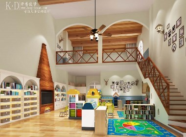 高端幼儿园设计—诺贝儿国际幼儿园