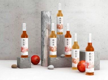 西安酒包裝設計, 陜文投西部傳媒?文化旅游產品—長安里精釀石榴酒、糜子黃酒包裝設計