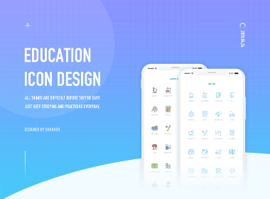 EDUCATION ICON DESIGN