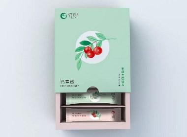 简约清新/饮品包装盒设计