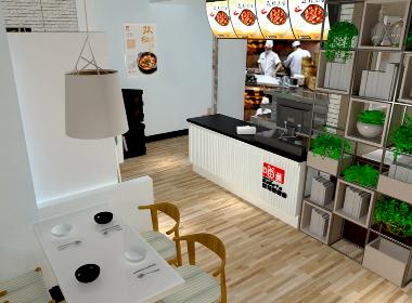 成都快餐店装饰公司丨成都快餐店装修丨成都快餐店设计公司