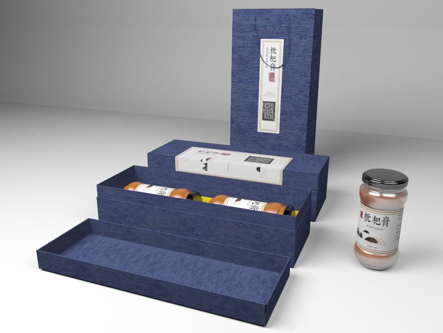 枇杷膏包装设计