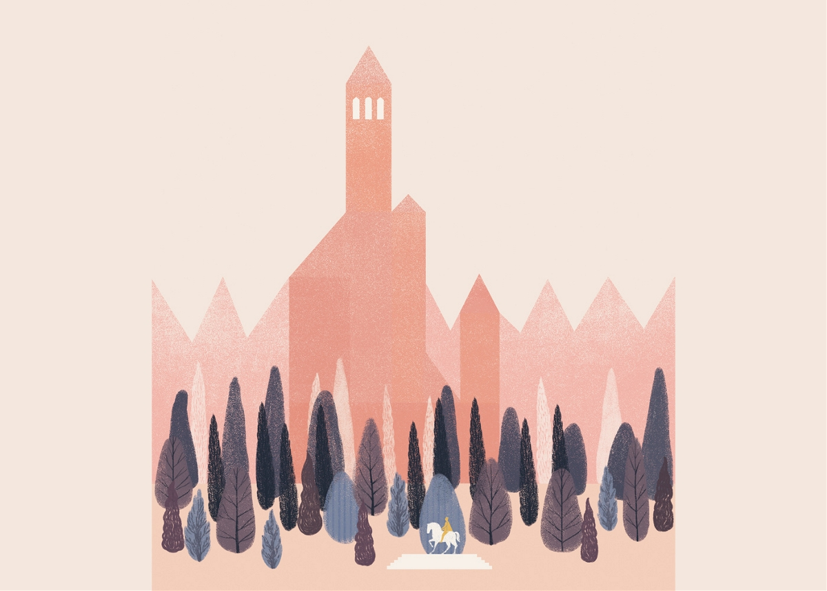 绘本《PIEL DE ASNO》插画设计