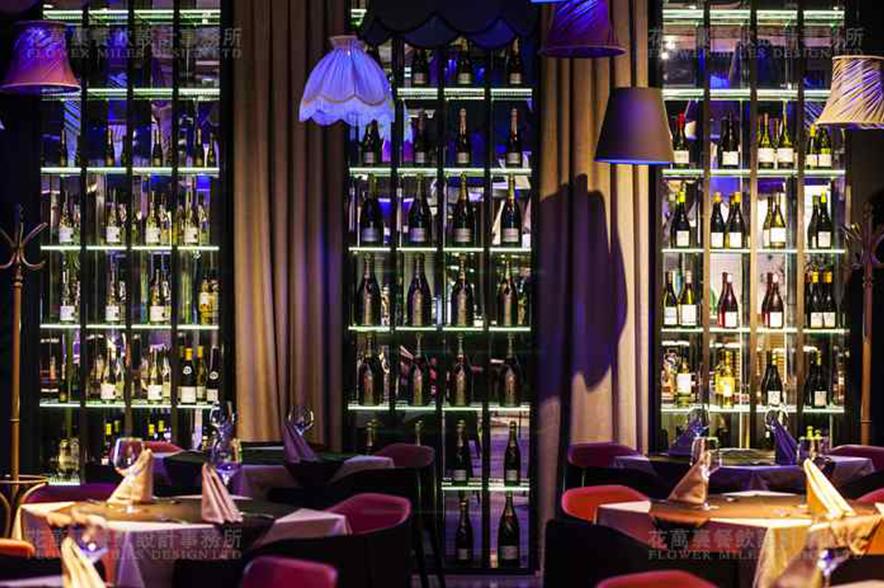 花万里餐饮空间设计|南京Abajour餐厅 绚丽民国