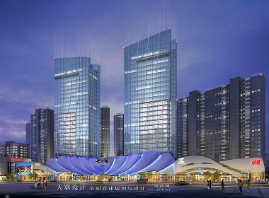 天霸设计作品:洛阳商贸城设计可参考的洛阳老城根文创商业项目