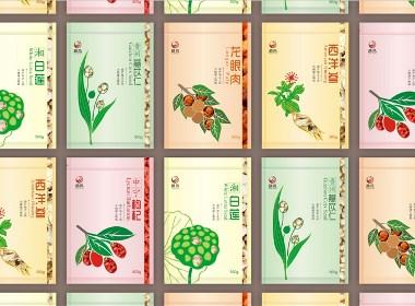 中医养生包装设计 农产品包装设计 枸杞包装设计 中医养生logo设计