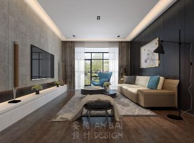 中欧国际城独栋别墅---现代简约风格