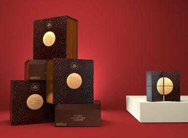 天唐出品 |《月如上》中秋礼盒包装设计
